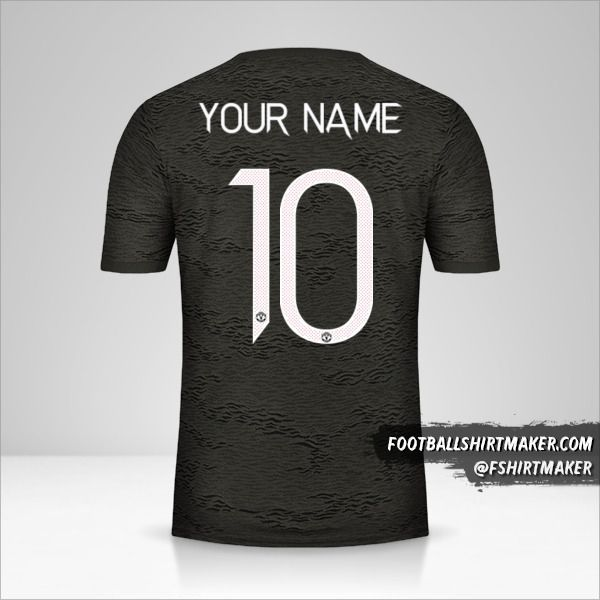 Manchester United 2020/21 Cup II jersey number 10 your name