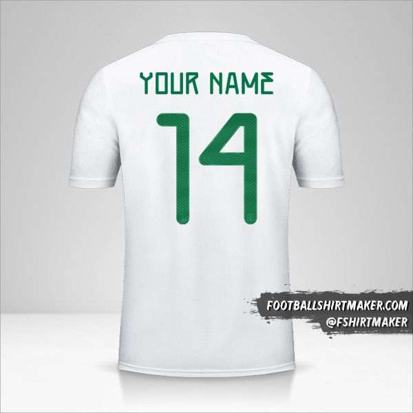 Mexico 2019 II jersey number 14 your name