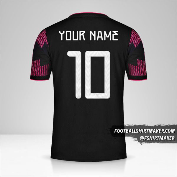Mexico 2021 jersey number 10 your name