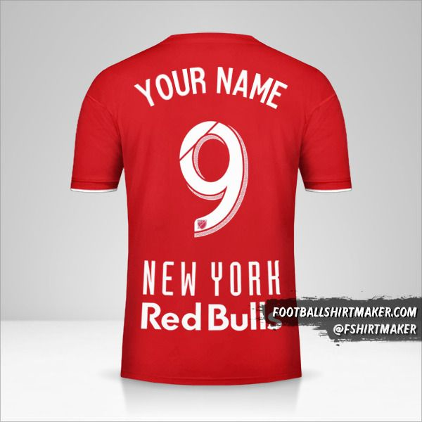 New York Red Bulls jersey 2019 number 9 your name