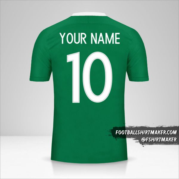 Nigeria 2016/17 jersey number 10 your name
