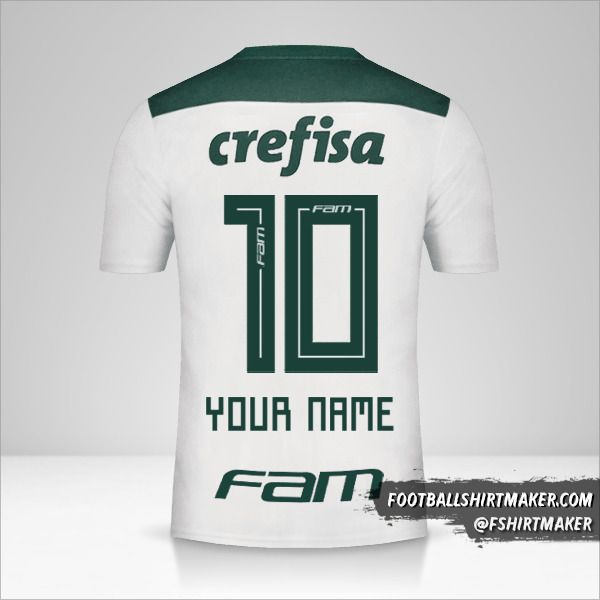 Palmeiras 2018 II jersey number 10 your name