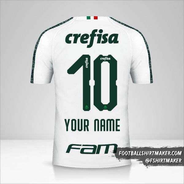 Palmeiras 2019 II jersey number 10 your name