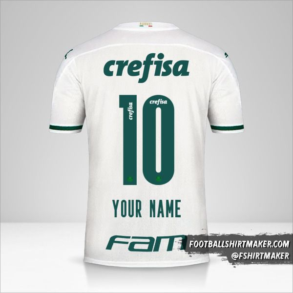 Palmeiras 2020 II jersey number 10 your name