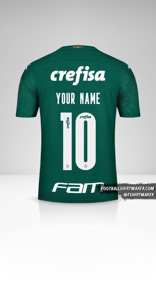 Palmeiras Libertadores 2020 jersey number 10 your name