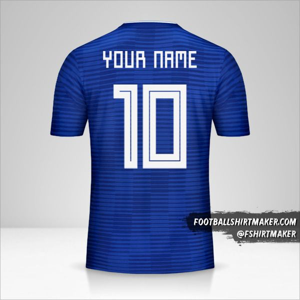 Paraguay Copa América 2019 II jersey number 10 your name