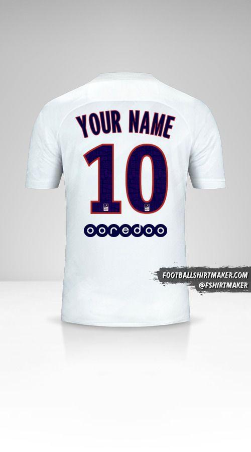 Paris Saint Germain 2019/20 III jersey number 10 your name