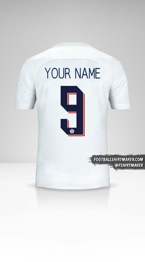 Paris Saint Germain 2019/20 Cup III jersey number 9 your name