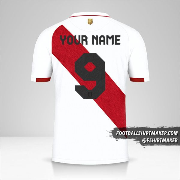 Peru 2020/2021 jersey number 9 your name