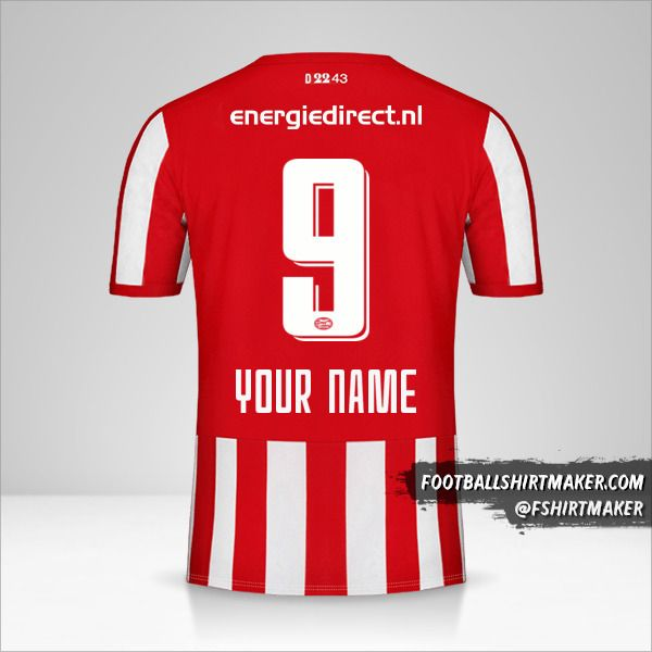 PSV 2019/20 jersey number 9 your name