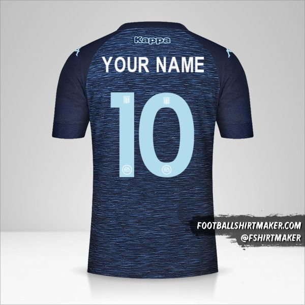 Racing Club 2021 II jersey number 10 your name