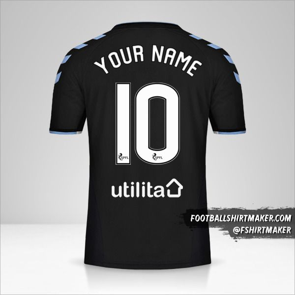 Rangers FC 2019/20 II jersey number 10 your name