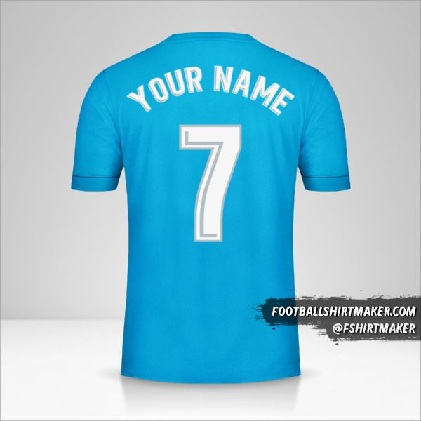 Real Madrid CF 2017/18 III jersey number 7 your name