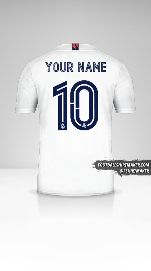 Real Madrid CF 2020/21 Cup jersey number 10 your name