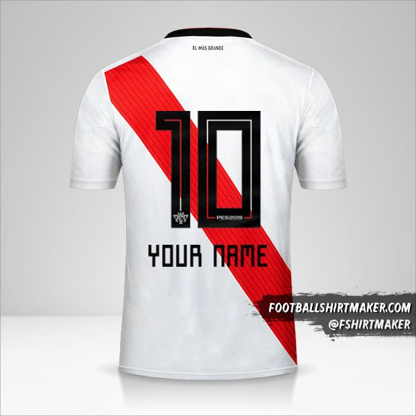River Plate 2018/19 jersey number 10 your name
