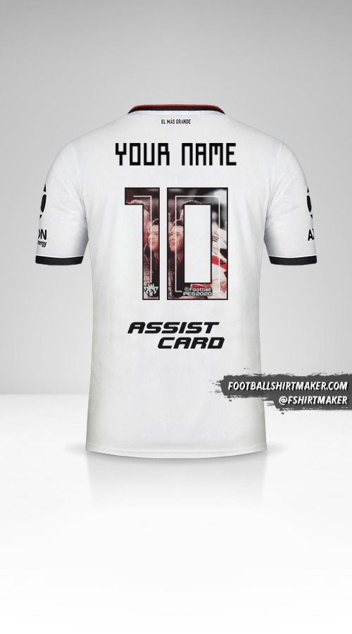 River Plate 2019/20 III jersey number 10 your name
