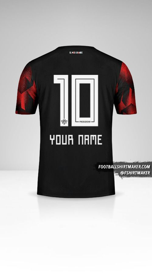 River Plate 2019 III jersey number 10 your name