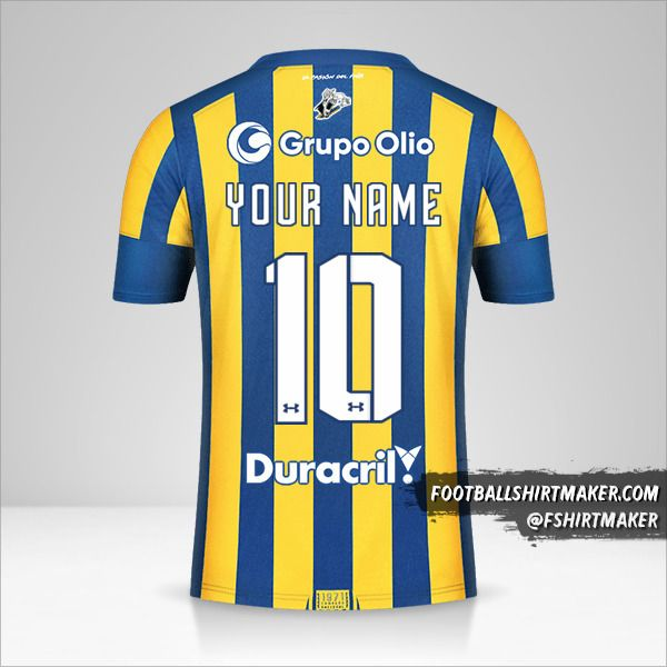 Rosario Central 2021 jersey number 10 your name