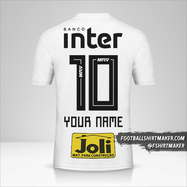 Sao Paulo FC 2018 jersey number 10 your name