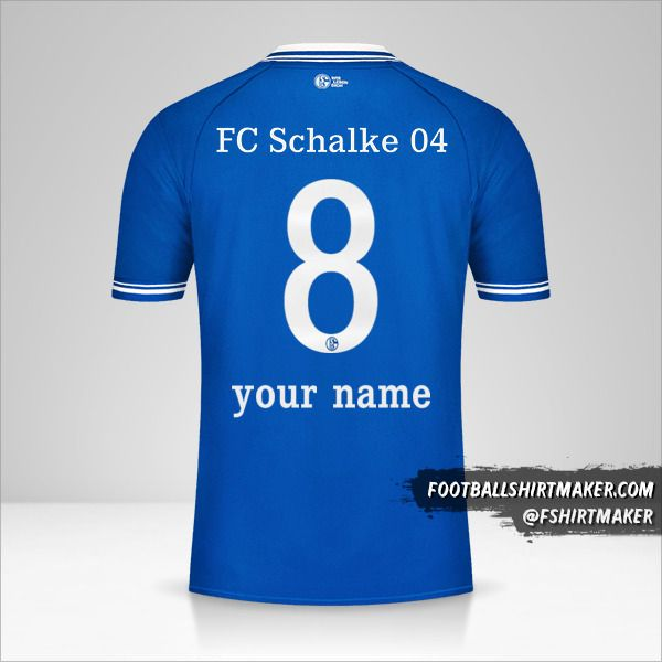 Schalke 04 2020/21 jersey number 8 your name