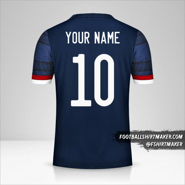 Scotland 2020/2021 jersey number 10 your name