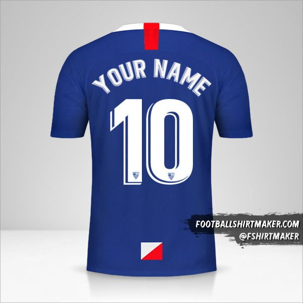 Sevilla FC 2019/20 III jersey number 10 your name