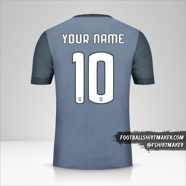SL Benfica 2017/18 Cup II jersey number 10 your name