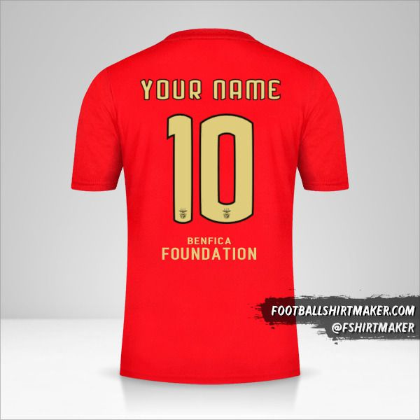 SL Benfica 2020/21 Cup jersey number 10 your name