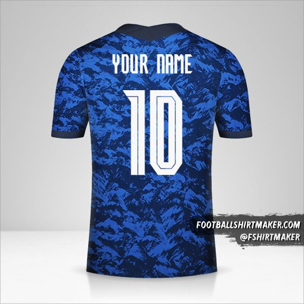 Slovakia 2020/2021 jersey number 10 your name