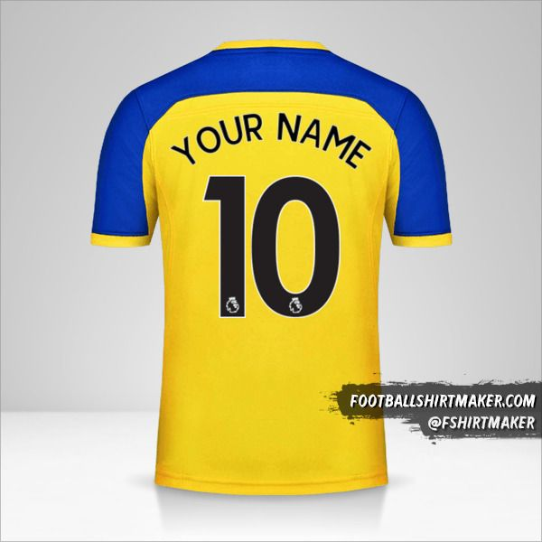Southampton FC 2018/19 II jersey number 10 your name