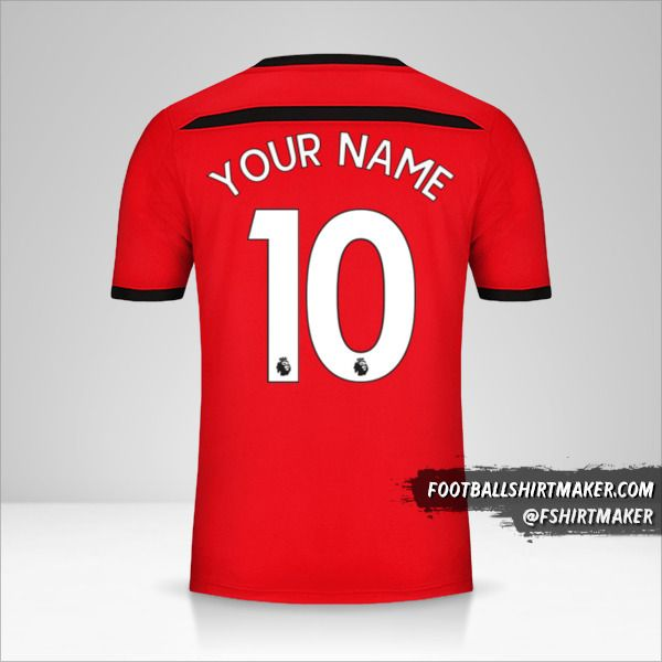 Southampton FC 2018/19 jersey number 10 your name