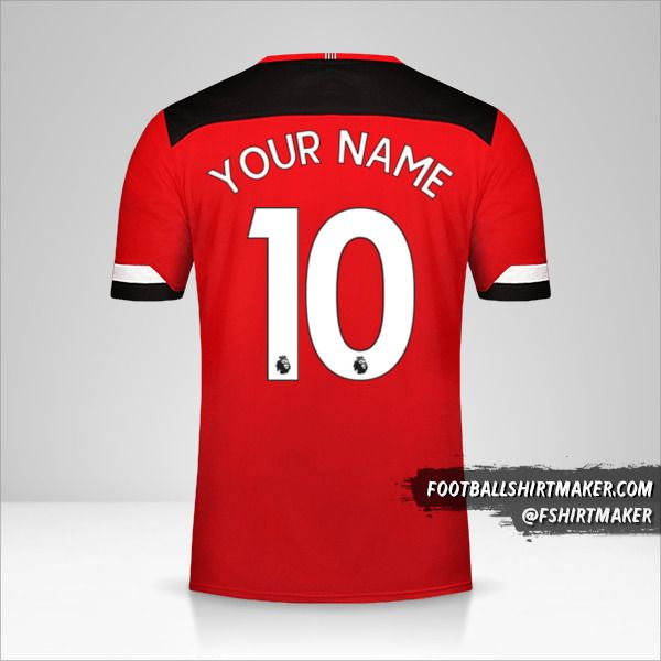 Southampton FC 2019/20 jersey number 10 your name