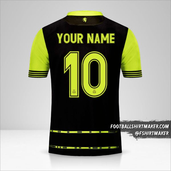 Sporting Clube 2017/18 Cup II jersey number 10 your name