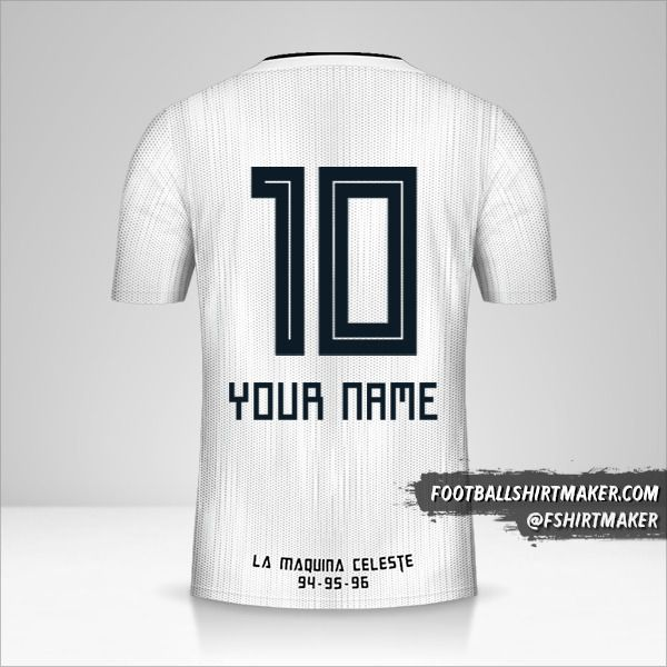 Sporting Cristal 2019 II jersey number 10 your name