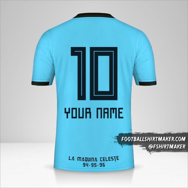 Sporting Cristal 2019 jersey number 10 your name
