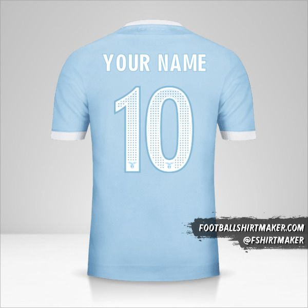 SS Lazio 2017/18 jersey number 10 your name