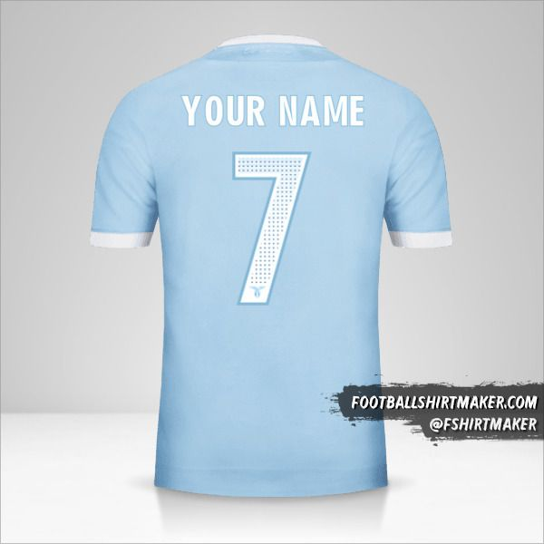 SS Lazio jersey 2017/18 number 7 your name
