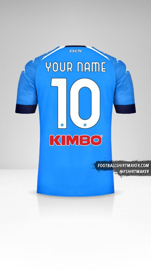 SSC Napoli 2020/21 jersey number 10 your name