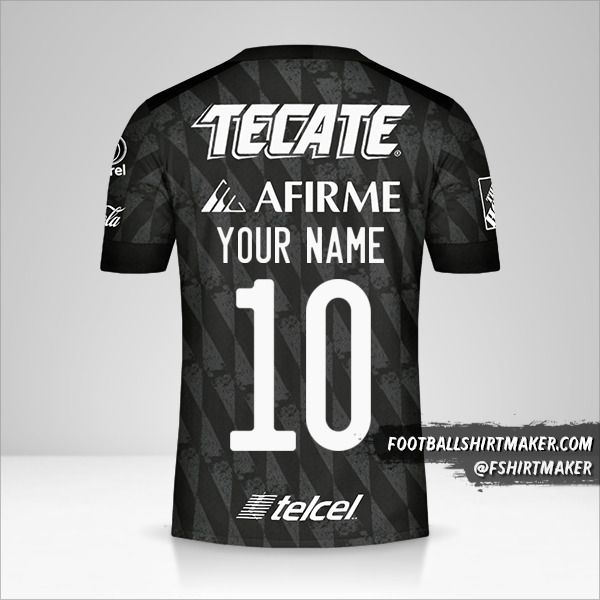 Tigres UANL 2020 III jersey number 10 your name