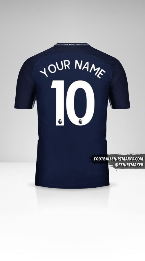 Tottenham Hotspur 2017/18 II jersey number 10 your name