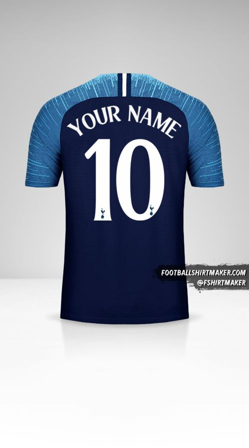 Tottenham Hotspur 2018/19 Cup II jersey number 10 your name