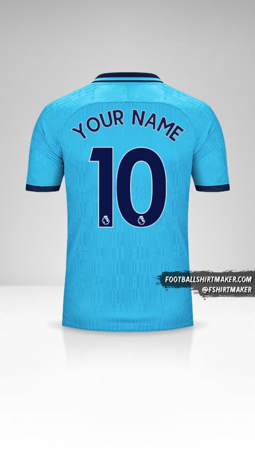 Tottenham Hotspur 2019/20 III jersey number 10 your name