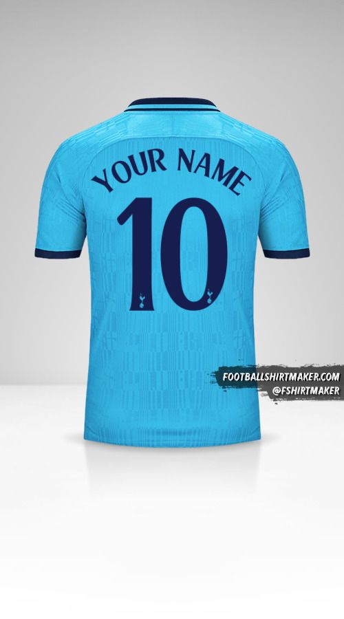 Tottenham Hotspur 2019/20 Cup III jersey number 10 your name