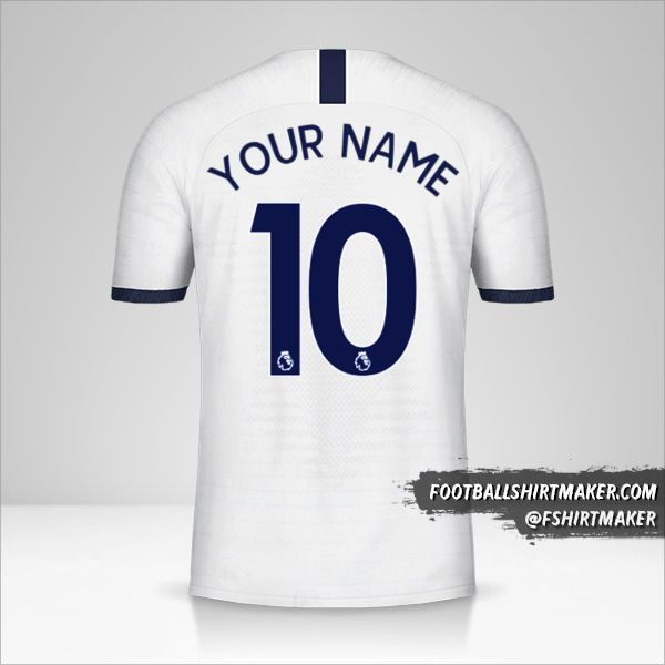 Tottenham Hotspur jersey 2019/20 number 10 your name