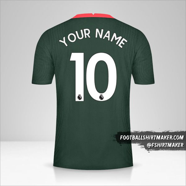 Tottenham Hotspur 2020/21 II jersey number 10 your name