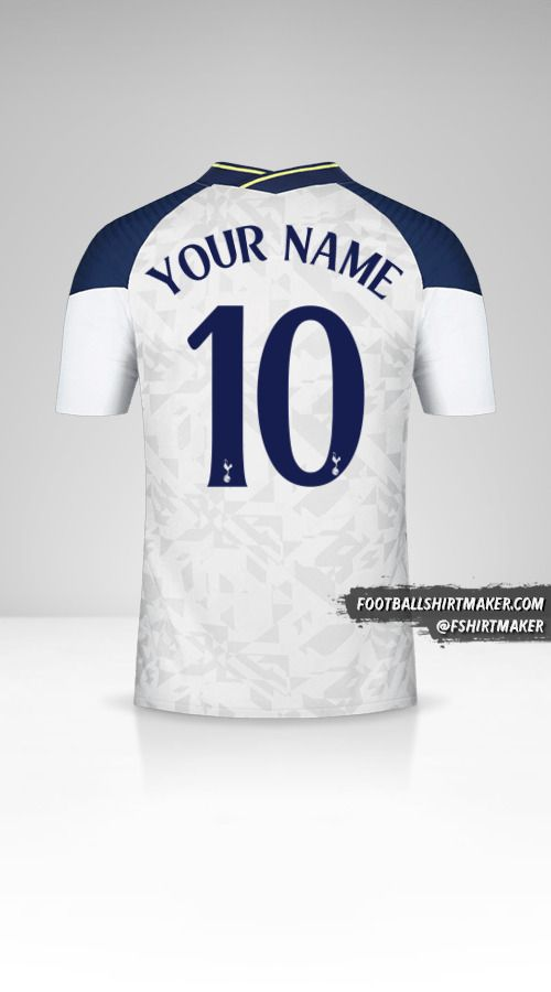 Tottenham Hotspur 2020/21 Cup jersey number 10 your name