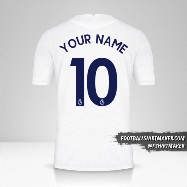Tottenham Hotspur 2021/2022 jersey number 10 your name