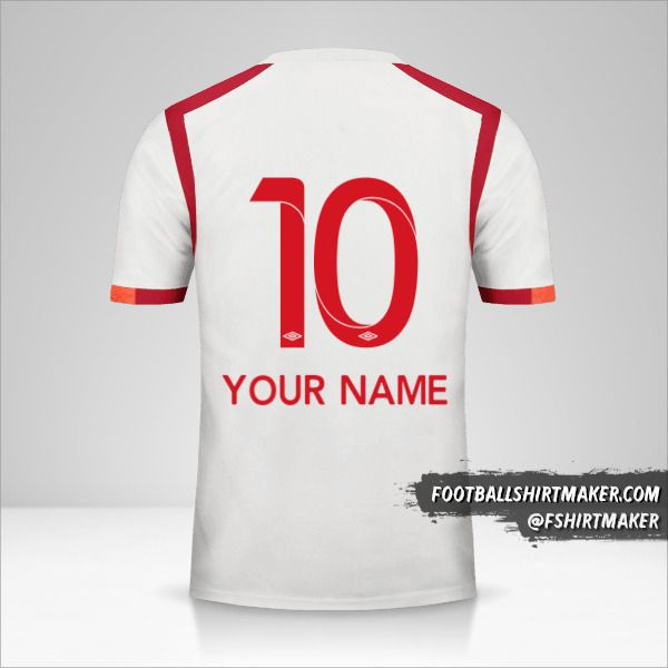 Universitario 2017 jersey number 10 your name