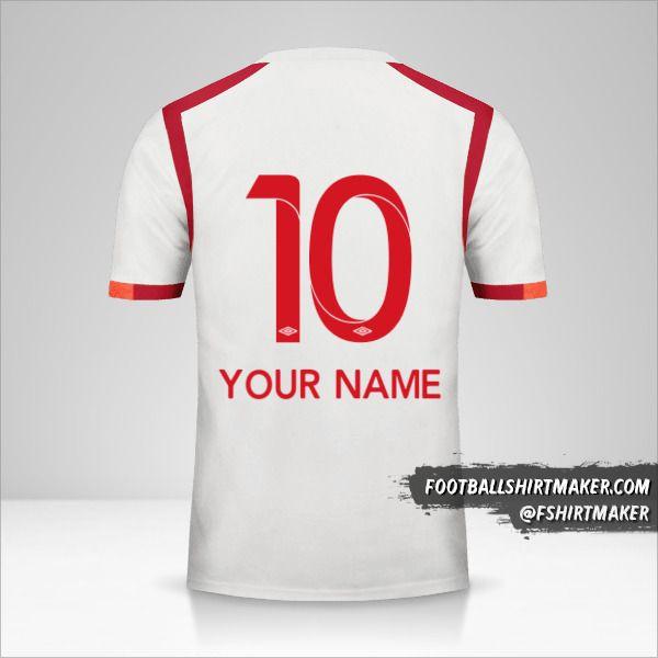Universitario 2017 jersey number 10 your name