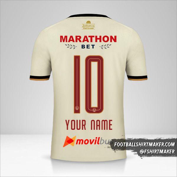 Universitario 2019 jersey number 10 your name